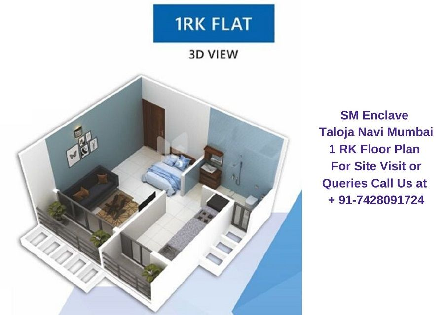 1 Rk Floor Plan Navi Mumbai Floor Plans All Modern