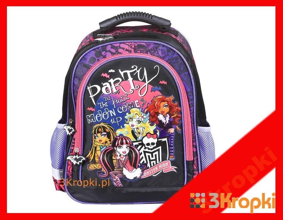 Monster High Plecak Szkolny Torba Tornister 91003 4638027622 Oficjalne Archiwum Allegro Monster High Bags Backpacks