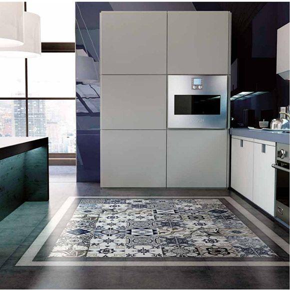 Imitation Carreau Ciment X Vintage Marengo Palo Rosa - Carrelage imitation ciment pour idees de deco de cuisine