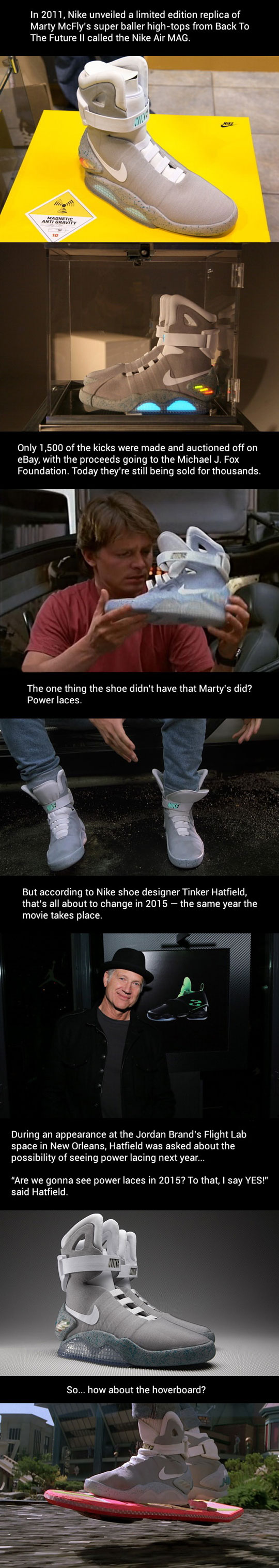 b3352c639d Marty McFly s super baller high tops. My guys should get a kick outa this!