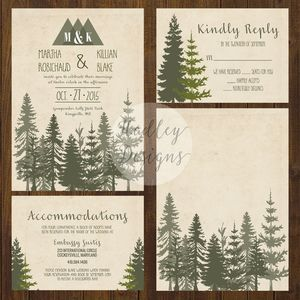 Rustic Wedding Invitations, Country Wedding Invitations, Western Wedding…