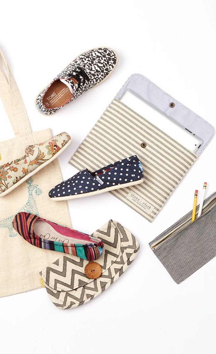dd44ab1bfdd3d Choose from these patterned shoes and accessories for back to school.  TOMS  Give Back to School Contest