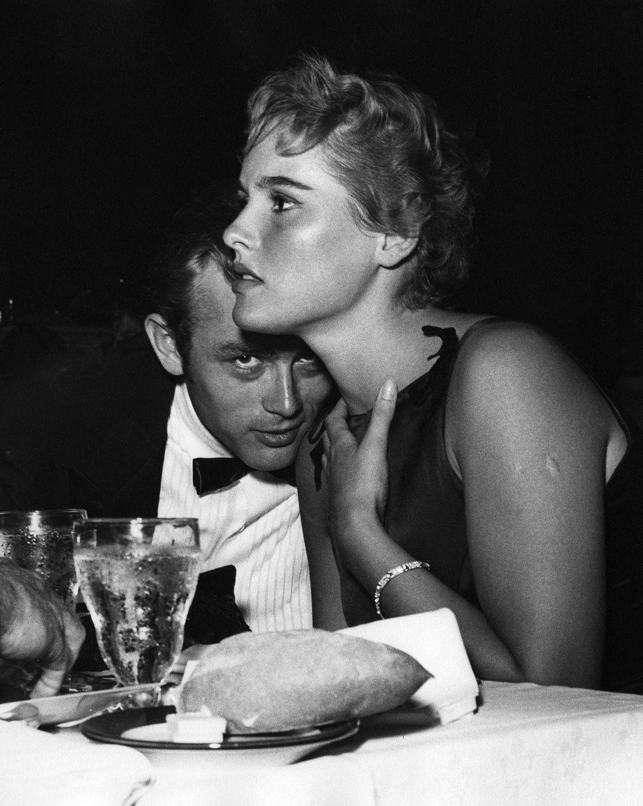 c4a4154496b9 James Dean with Ursula Andress at Ciro s (1955)