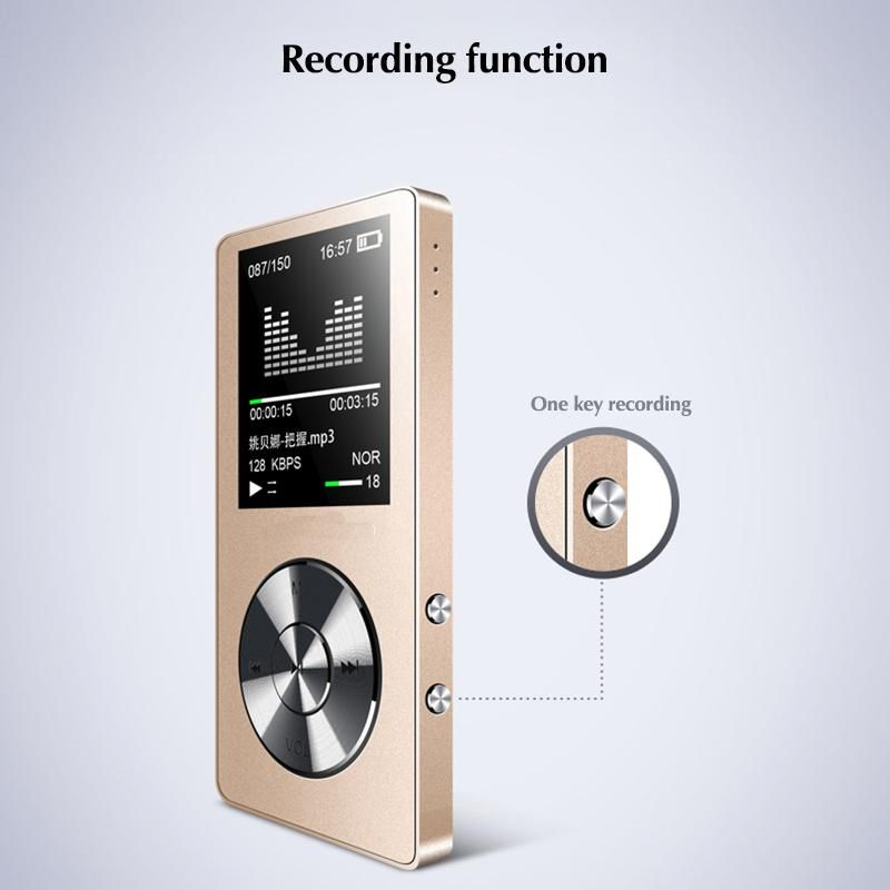 DOITOP 8GB Stereo Music Audio Walkman Long Standby MP3 Video Player