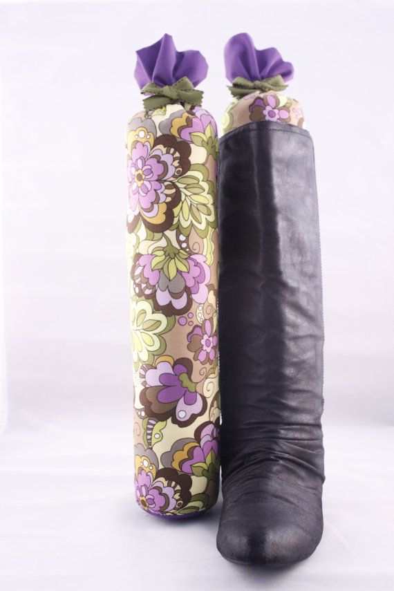 Pair of Boot Forms  Knee High Colorful Floral with by RoxandBeau, $20.00