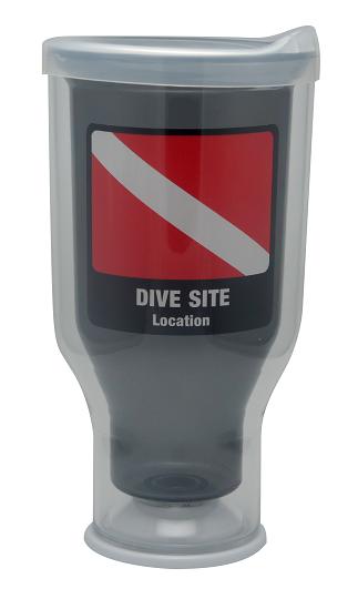 My Favorite Tumbler - Dive Flag EDITABLE