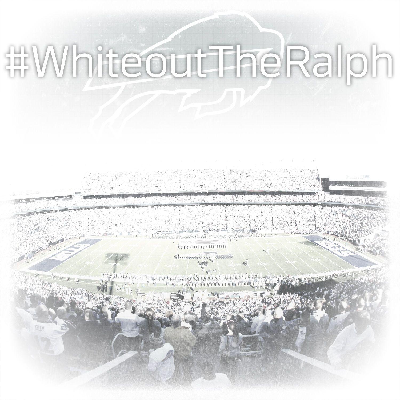 Be sure to wear white to ralph wilson stadium on sunday