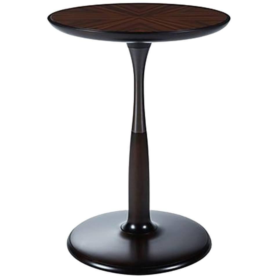 Oti Round Side Table Side table, Vintage side