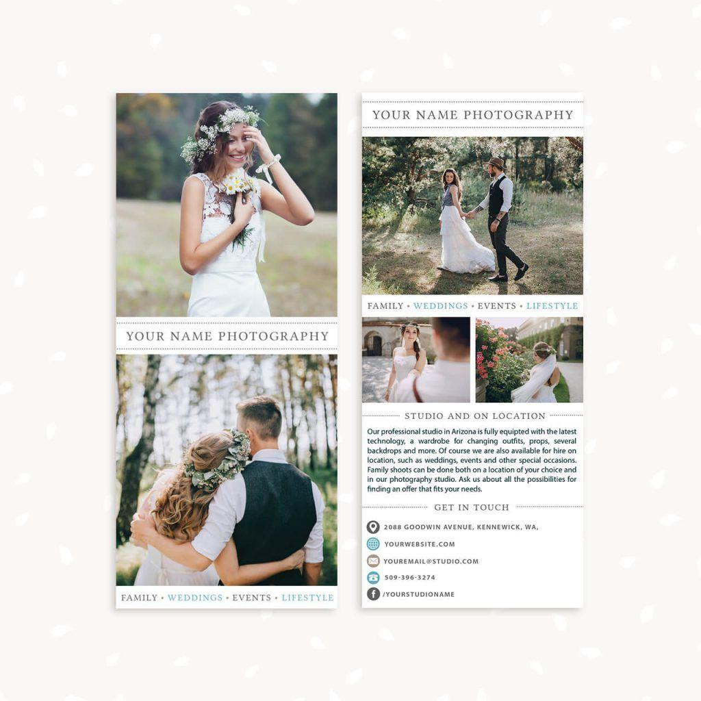 Long Photography Brochure Template