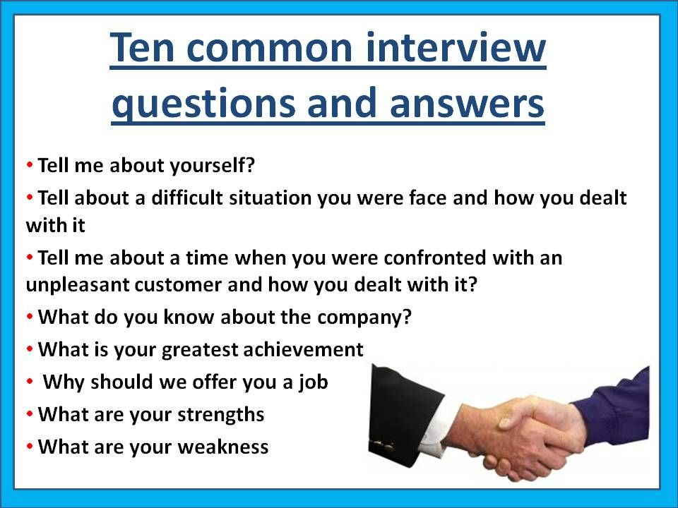 17 Best ideas about Mock Interview Questions – Interview Question