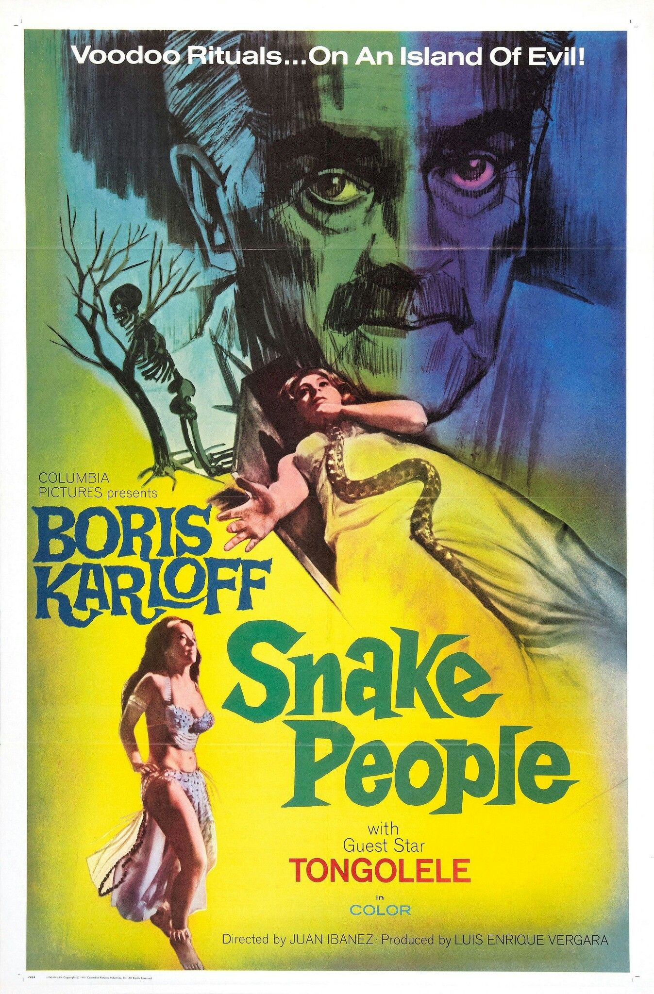 Snake People (1971) in 2019 Movie posters, Horror