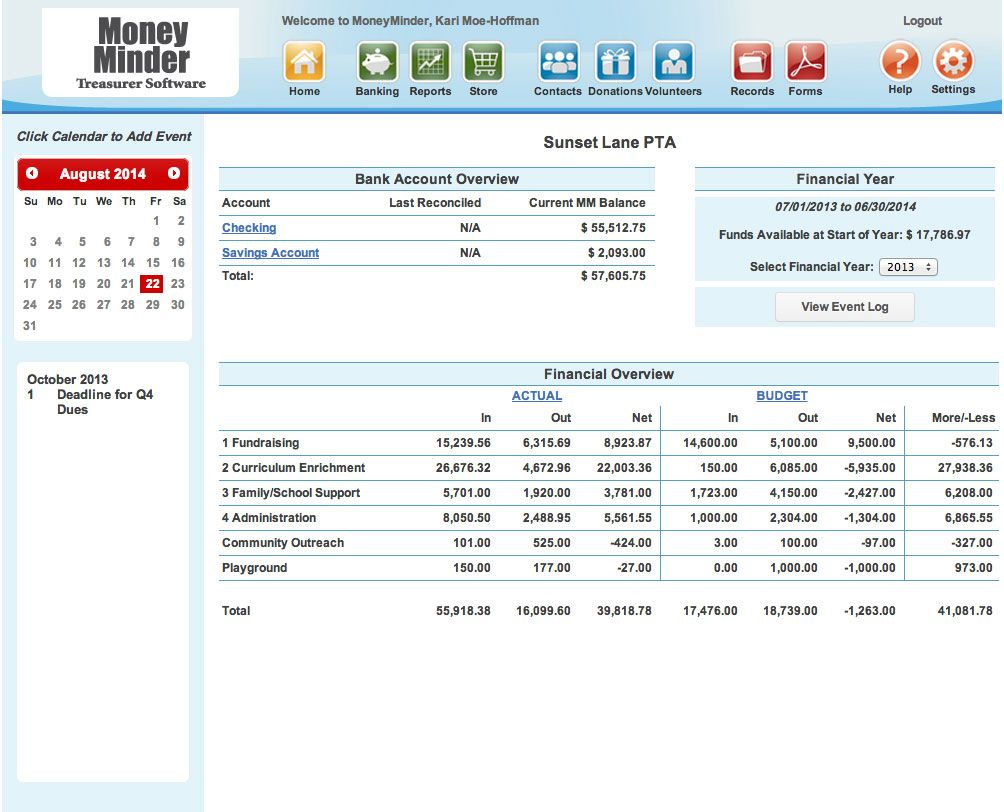 Accounting Simplified Thumb Pta Pinterest Pta Rotary Club And