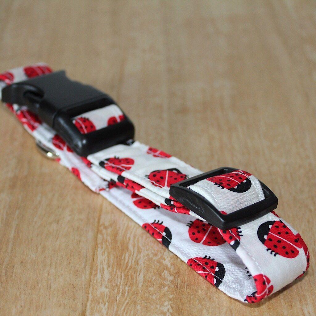 Red Ladybug Dog Collar Dog Cat Collar My Trendy Pooch