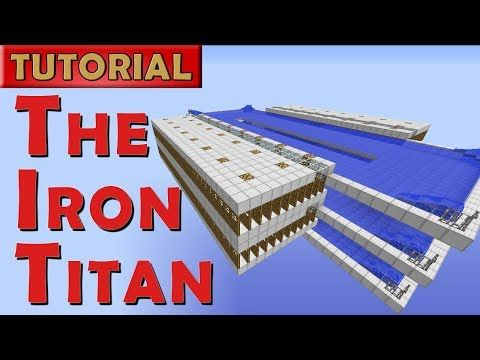 How to build a iron golem farm in minecraft 1.8