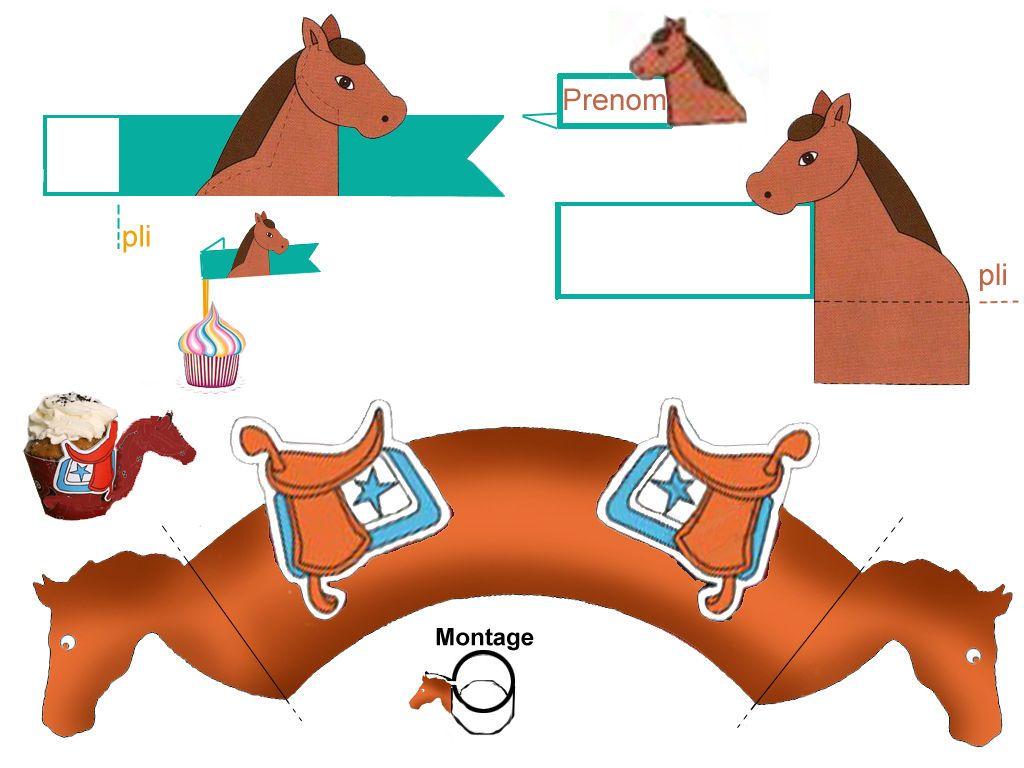 anniversaire theme cheval garcon