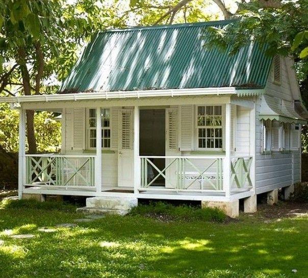 Маленькие дачные домики — подборка фото идей (с ...