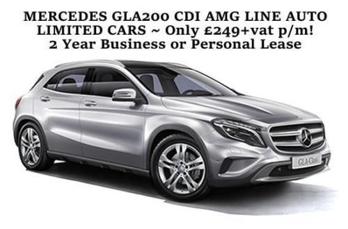 Limited Cars Mercedes Gla200 Cdi Amg Line Auto Business Or
