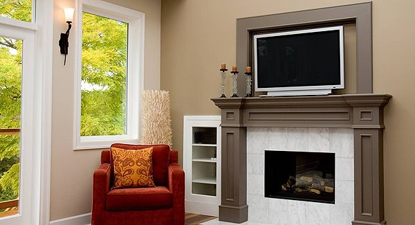Photos Of Fireplaces And Tv Above Them Where To Put Tv