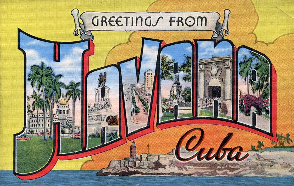 Greetings from Havana, Cuba - Large Letter Postcard | Large ...