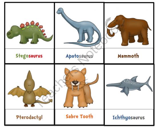 Preschool Printables: Types of Dinosaurs Printable | PROYECTO LOS ...