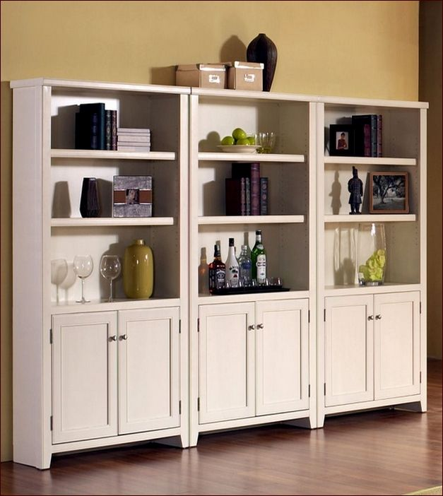ideas glass cherry bottom bookcases on drawers images doors with natural bookcase