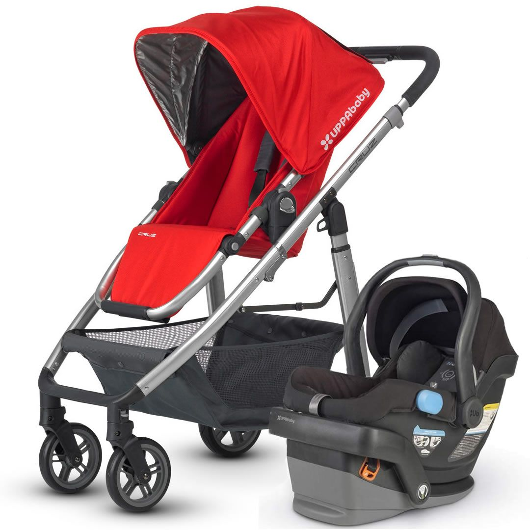 Uppababy Cruz & Mesa Travel System Red Uppababy cruz