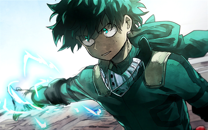 Download Wallpapers Izuku Midoriya 4k Boku No Hero Academia Artwork Manga My Hero Academia Besthqwallpapers Com My Hero Boku No Hero Academia My Hero Academia