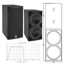 Image result for subwoofer box design for 18 inch | Audio in