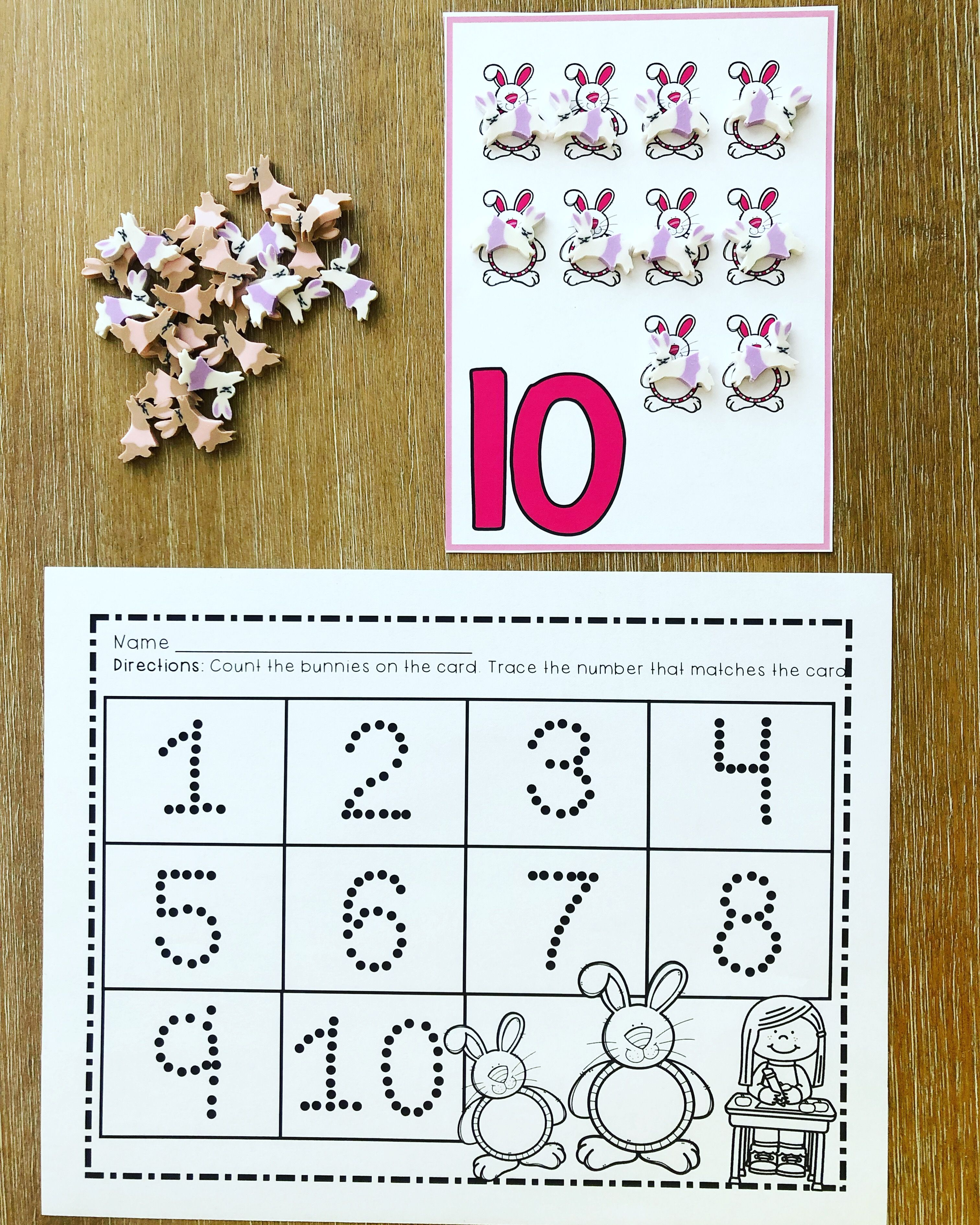 One To One Correspondence Counting With Counters April