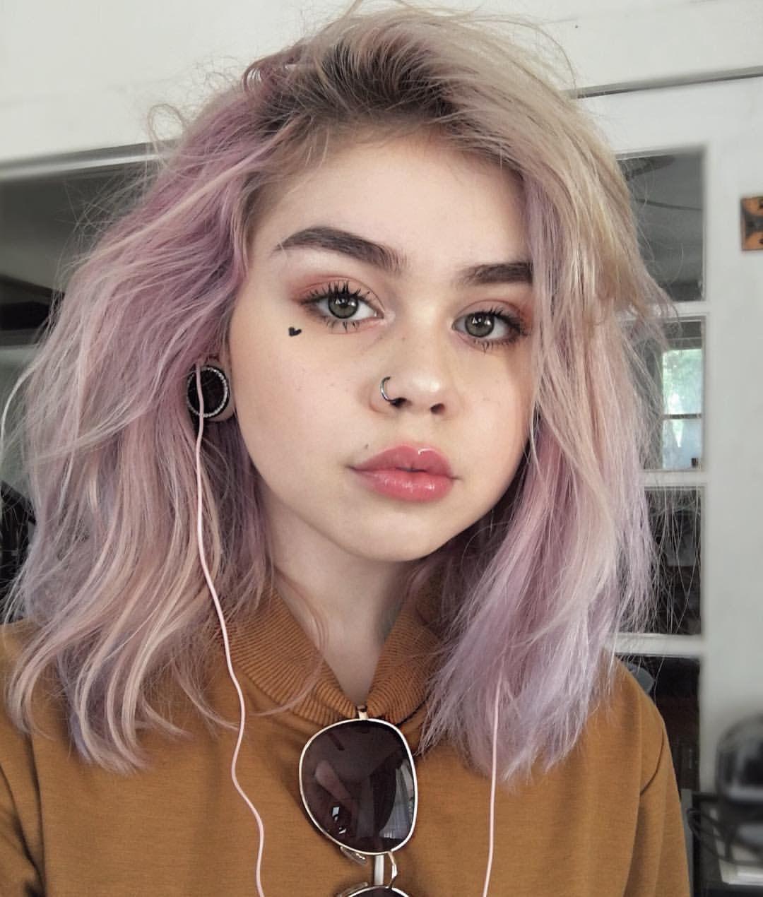 Sugoimeg On Instagram Scene Hair Guys Emo Alternative Girls Boys Pastel Pink Hair Scene Hair Aesthetic Hair