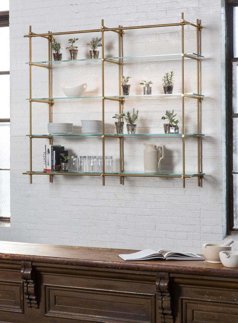 This Two Bay Hanging Shelving Unit Is Part Of Amuneal S