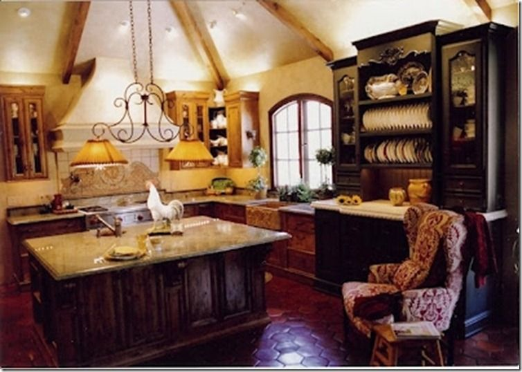 This kitchen was designed for and with a lovely Southern born lady that loves to cook!   Cynthia Jorgensen Interiors   Country French