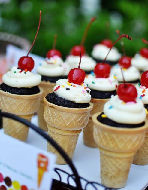 Decoracion helados para ni os buscar con google - Decoracion de helados ...