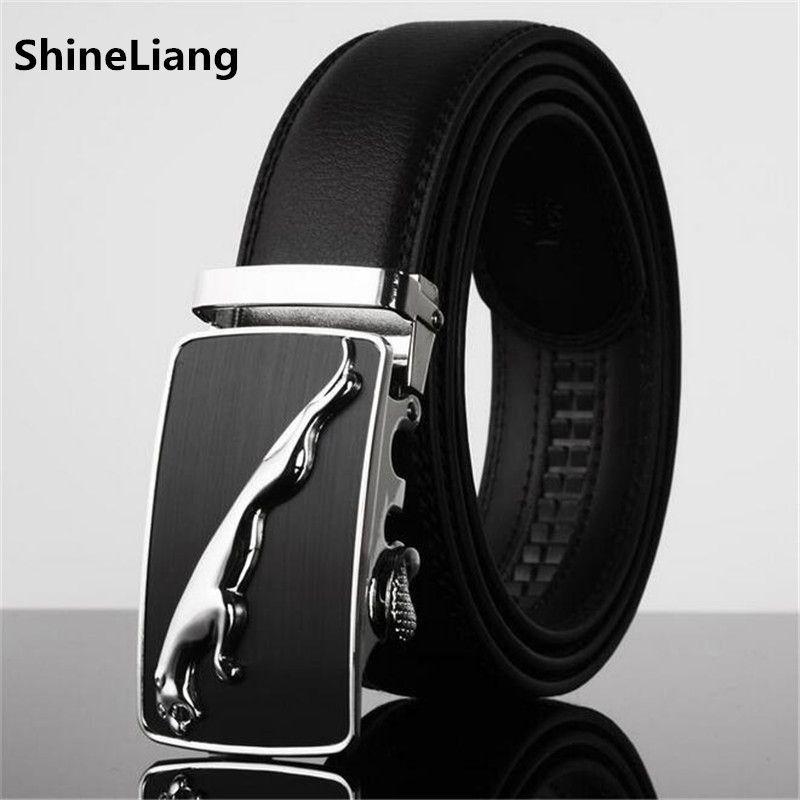 Hombres Cinturón de Cuero Famosos Diseñadores de marca de alta calidad de  Lujo de Metal automático hebilla de correa de La Cintura para Hombre de La  Moda ... 1fa4adb8734c