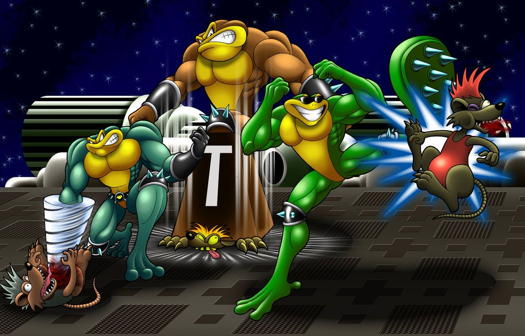 Battletoads Arcade By Mystic Forces On Deviantart Battletoad