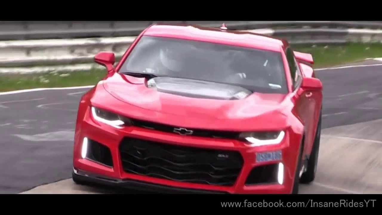 Chevrolet Camaro Zl1 2017 Overall Review Exhaust Sound Track Test Chevrolet Camaro Zl1 2017 Chevrolet Camaro Zl1 Camaro Zl1