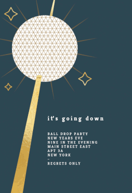 It S Going Down New Year Invitation Template Free Greetings Island Party Invite Template New Years Eve Invitations Invitation Template