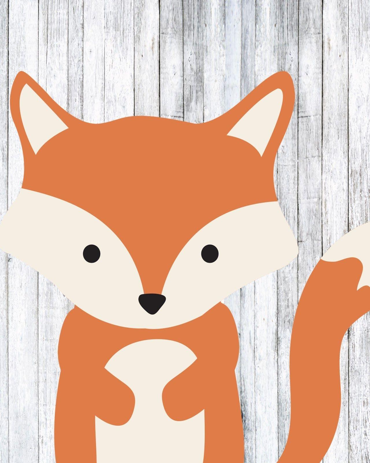 Free Woodland Animal Prints (With images) Nursery animal