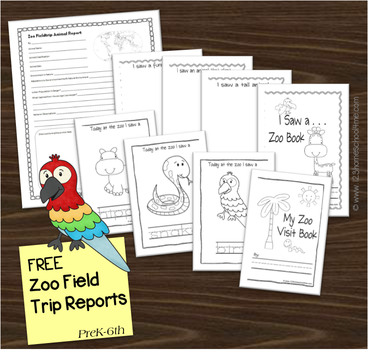 Zoo Field Trip Reports  Homeschool    Field Trips