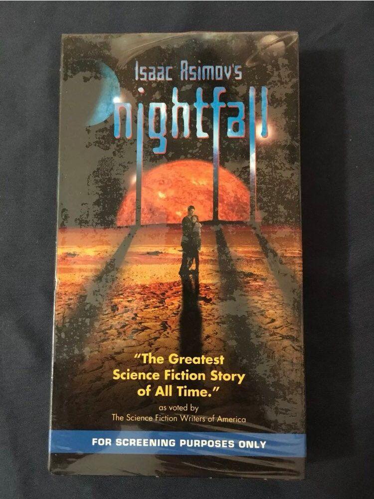 Vintage Nightfall VHS Movie 2000 Promo Release SciFi in