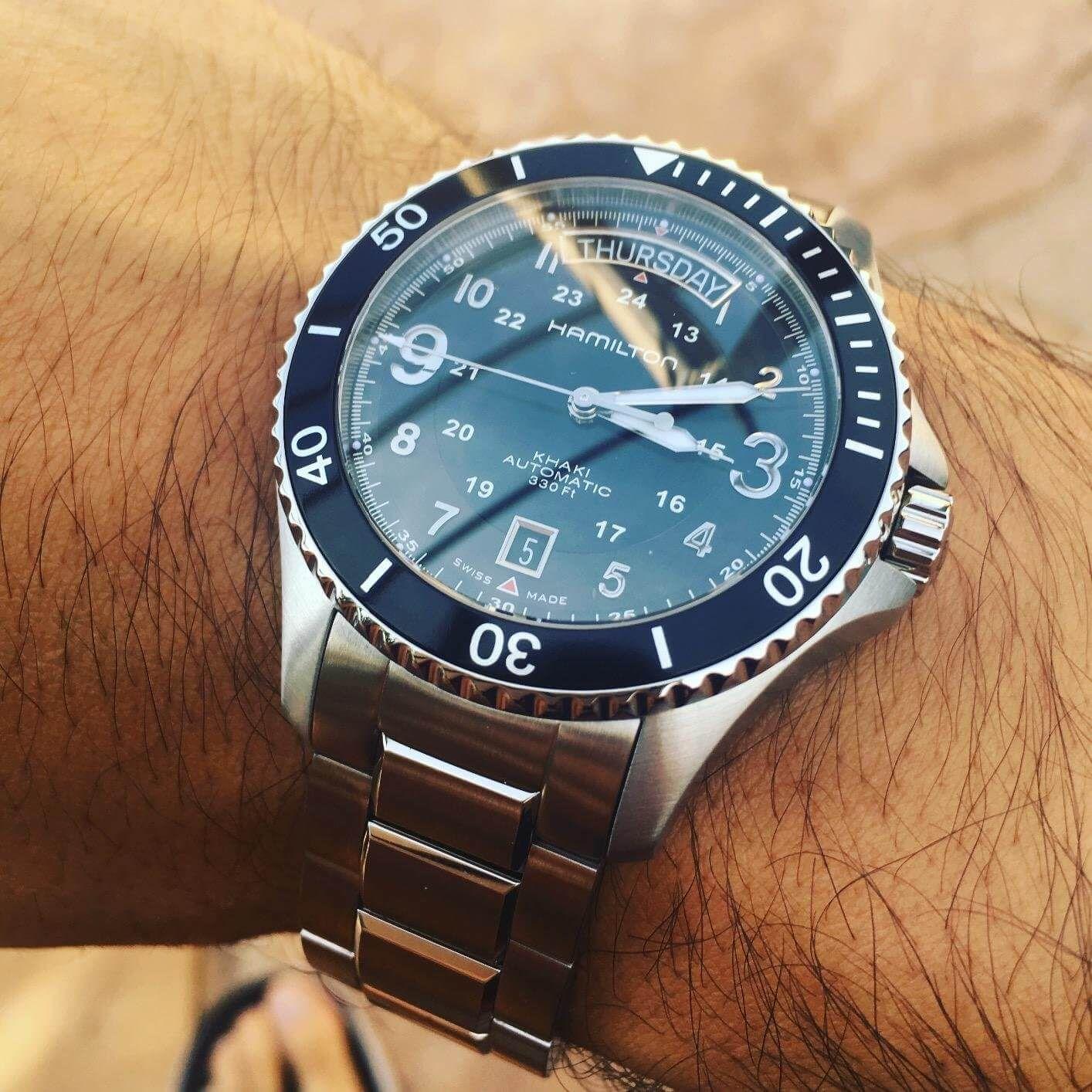 Hamilton khaki king scuba review hamilton s take on for Hamilton dive watch