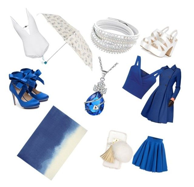"""blue and white"" by grizzlygirly ❤ liked on Polyvore featuring Zimmermann, Philipp Plein, Ashlyn'd, Accessorize, Liam Fahy, Bluebellgray and Miss Selfridge"