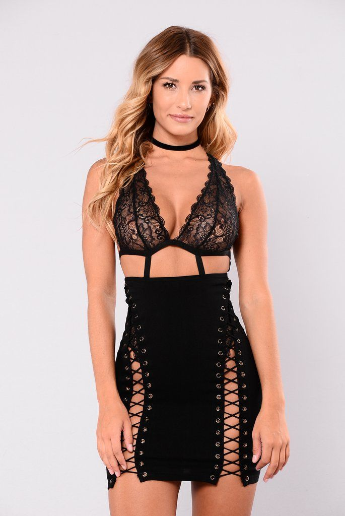 6056890d79c Camden Lace Up Skirt - Black
