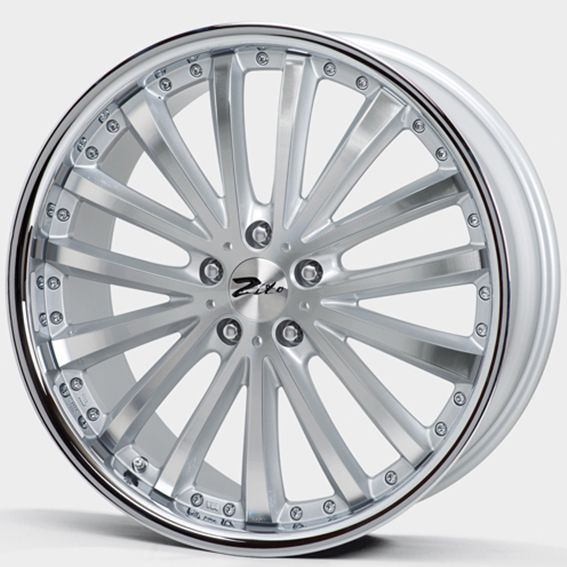 20 Zito Orlando Silver Polished Inox Alloy Wheels For 5 Studs Wheel Fitment In 9 5x20 Rim Size Con Imagenes Llantas Para Autos Llantas Rines