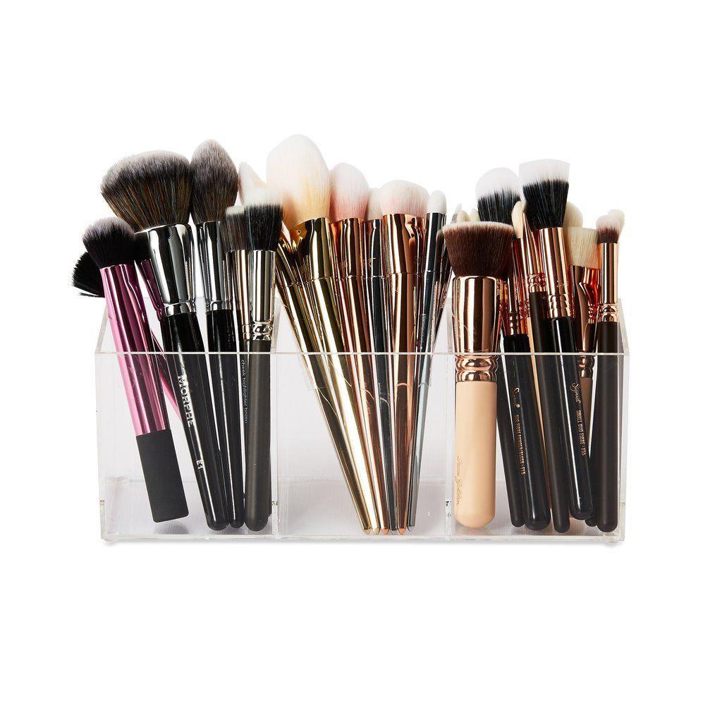 XL Brush Holder Makeup storage, Brush holder, Makeup brushes