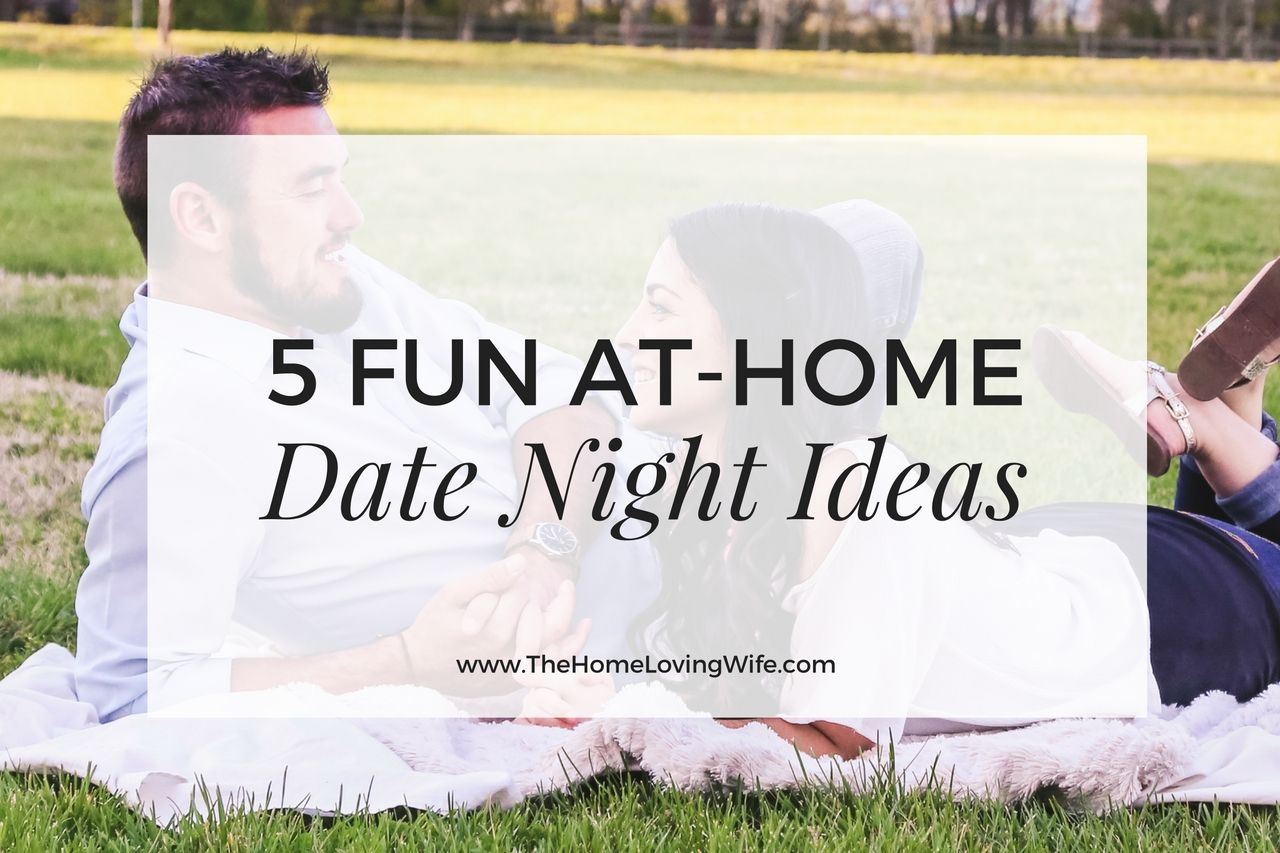 5 Fun At-Home Date Night Ideas | Marriage Matters | Pinterest