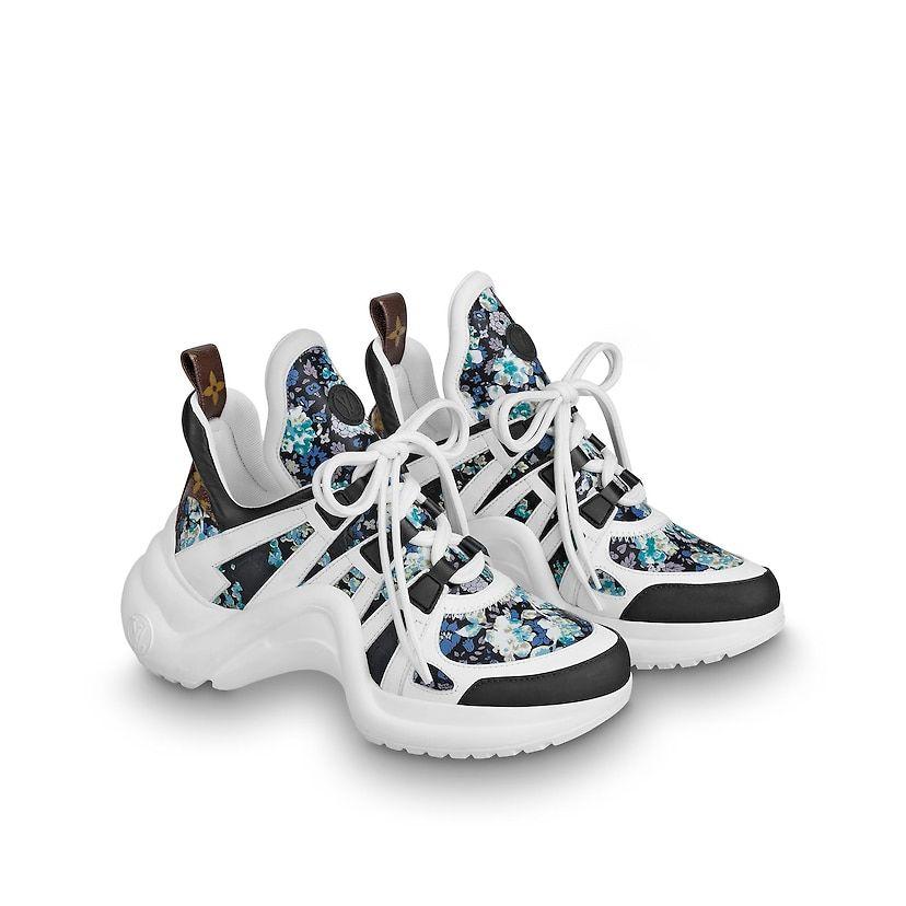 Lv Archlight Sneaker Dengan Gambar Sepatu