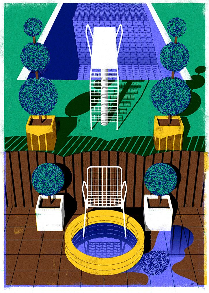 Illustrator Leonie Bos's style is both precise and
