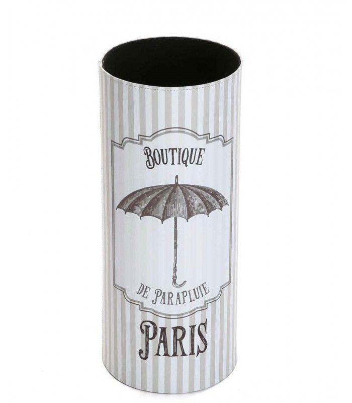 Stand Parapluie bleu vintage /& Blanc parapluies design