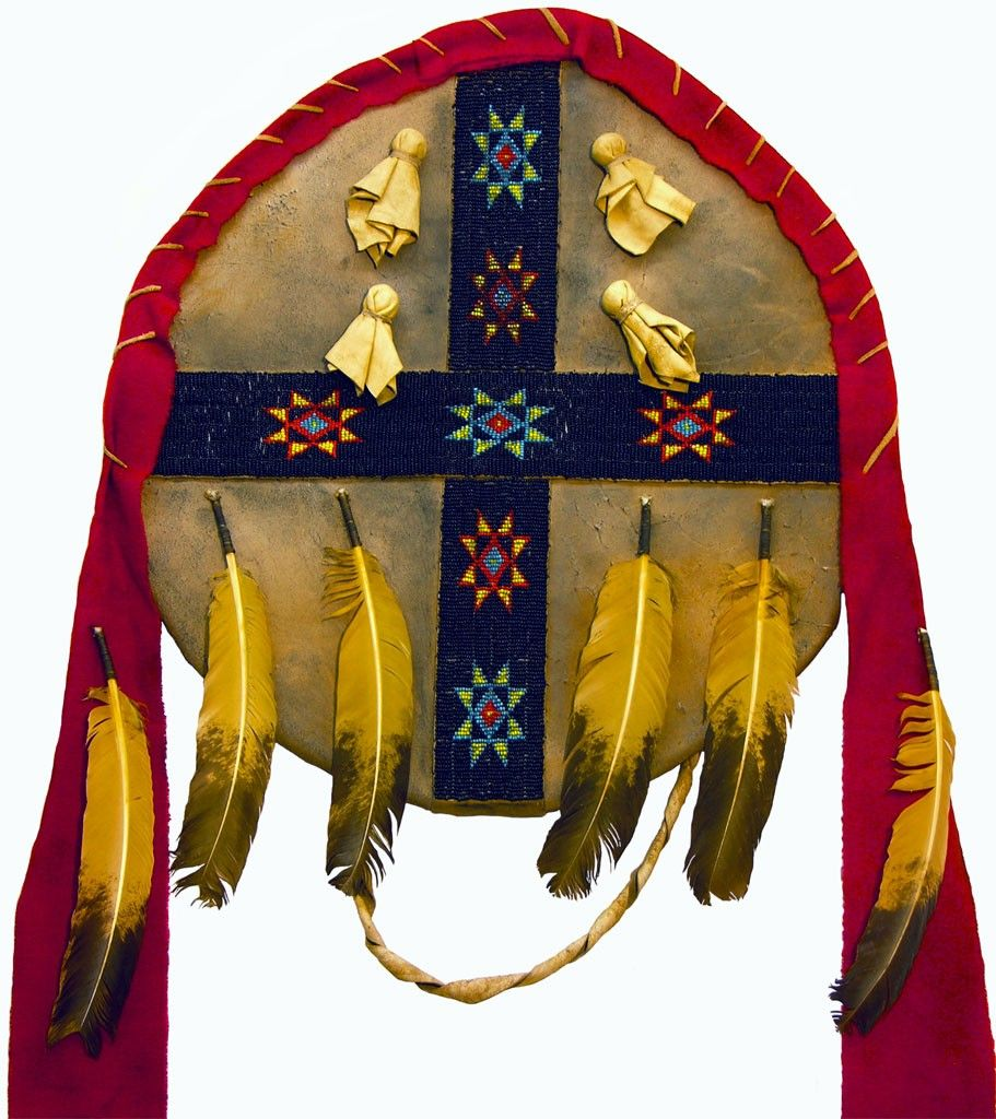 American indian war shield w four directions symbol by artist dawn american indian war shield w four directions symbol by artist dawn yellow bank praireedge biocorpaavc Choice Image
